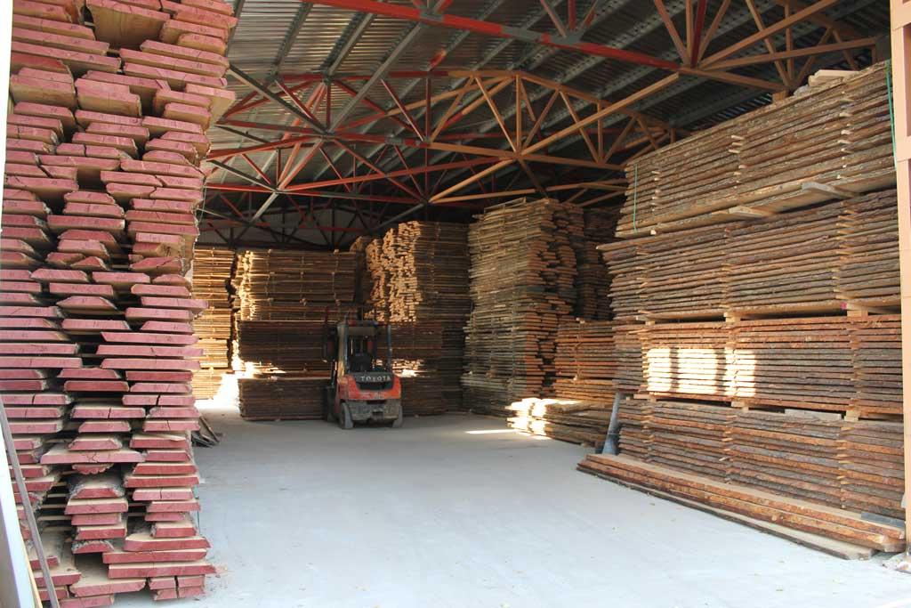 Suszenie drewna