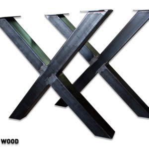zamów metalowe nogi na niepowlekane stoły