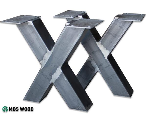 wyprzedaż małe metalowe nogi do niepowlekanych stołów