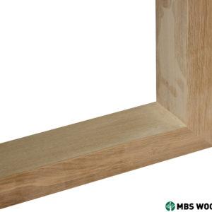wyprzedaż Drewniane nogi do stołu pokryte przezroczystym olejem