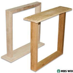 Zamów Drewniane nogi do jadalni pokryte przezroczystym olejem