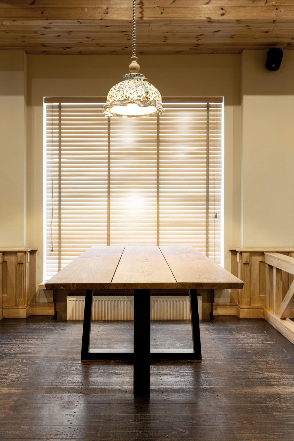 Stół dębowy 3 deski