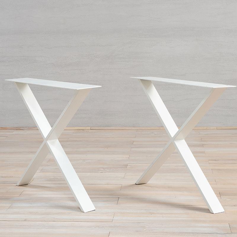 White Metal Table Legs